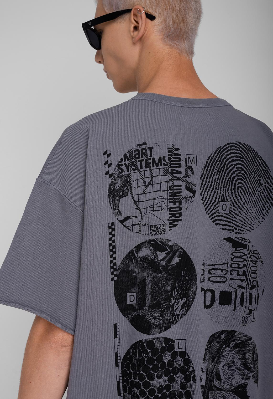 Abstract Module T-shirt Oversize