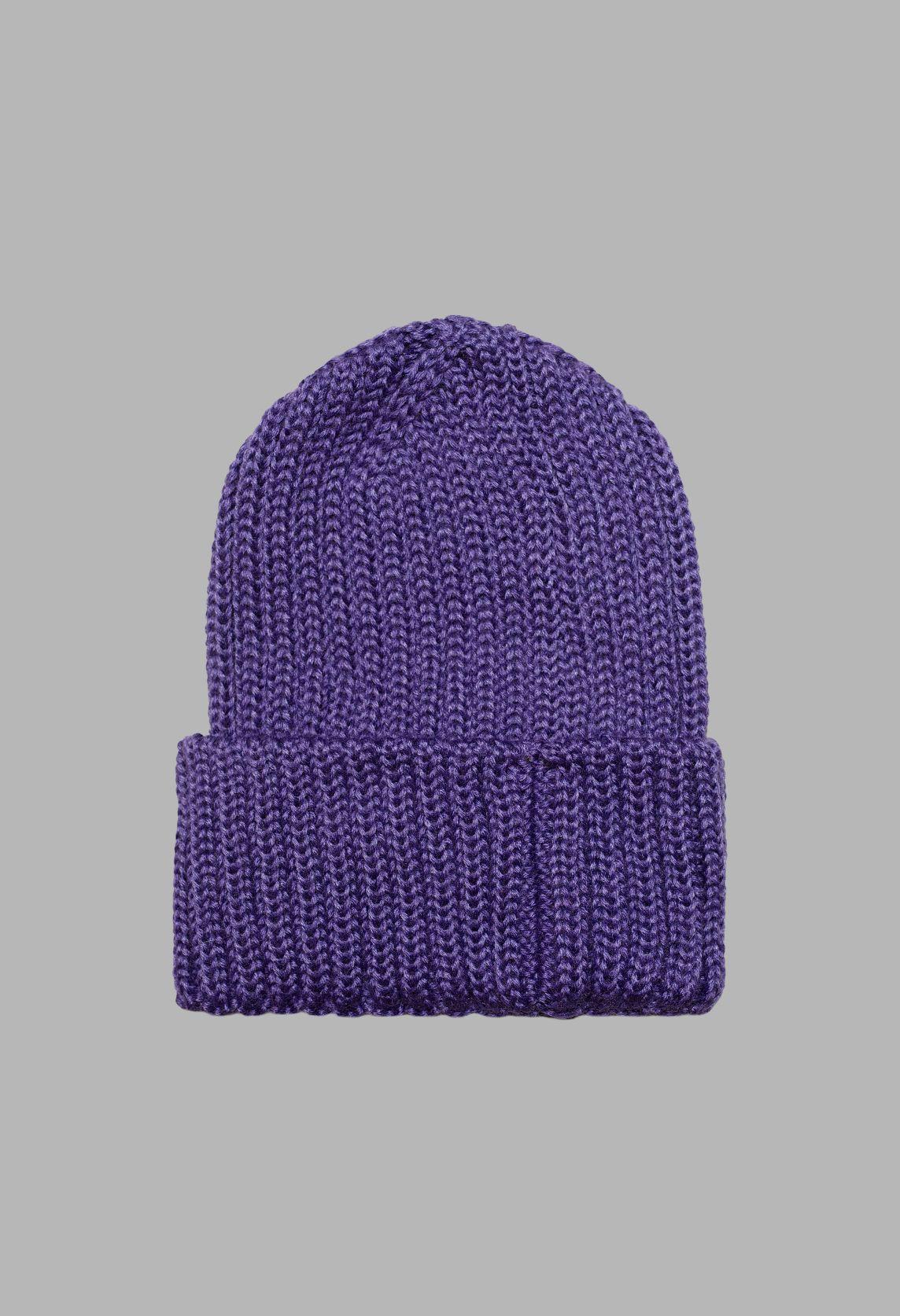 Work Beanie Purple