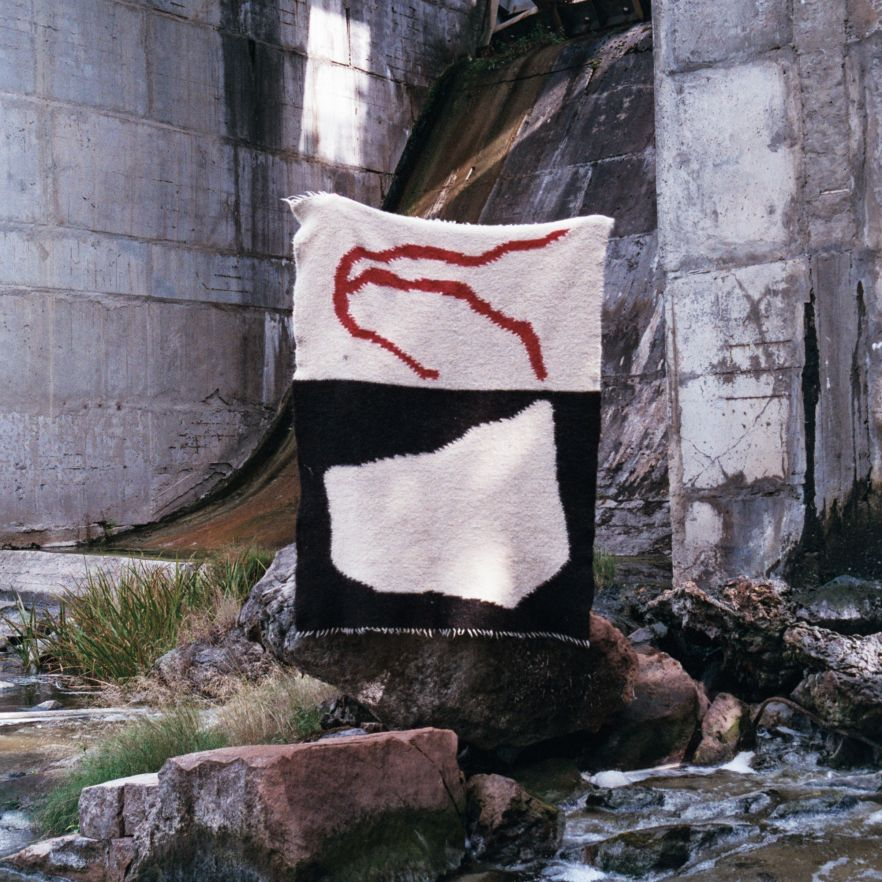 Basny Rugs. Conceptual art in the traditional performance