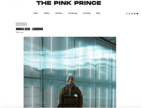 the pink prince